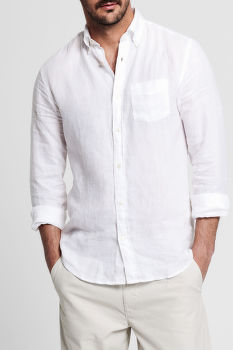 ING GANT THE LINEN SHIRT REG BD
