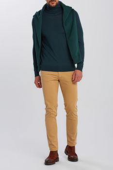 KARDIGÁN GANT WASHABLE MERINO TURTLENECK