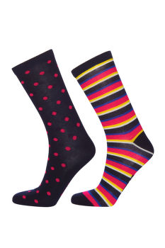 ZOKNI GANT D2. 2-PACK SOCKS GIFTBOX