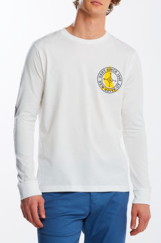 PÓLÓ GANT D1. NAUTICAL LS T-SHIRT