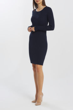 RUHA GANT D1. RIB KNITTED DRESS