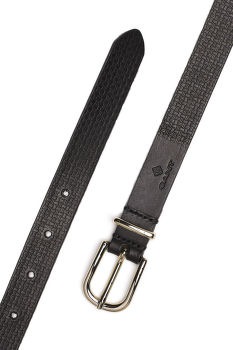 ÖV GANT SIGNATURE WEAVE LEATHER BELT