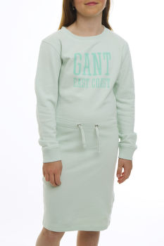 RUHA GANT TG SUN FADED C-NECK SWEAT DRESS