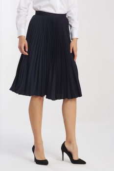 SZOKNYA GANT D1. PREPPY STRIPE PLEATED SKIRT