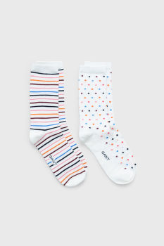 ZOKNI GANT D1. DOT AND STRIPE SOCK GIFT BOX