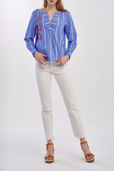 ING GANT D2. EMBROIDERY STRIPE POPOVER