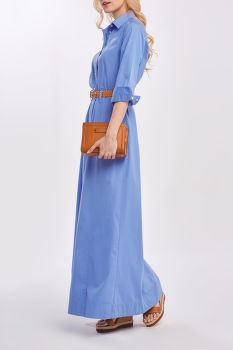 RUHA GANT D2. MAXI SHIRT DRESS
